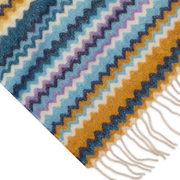 Missoni Other Home Chevron Rico Throw Blanket Blue Poshmark Enchanting Missoni Throw Blankets
